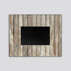 rustic barnwood western country Picture Frame