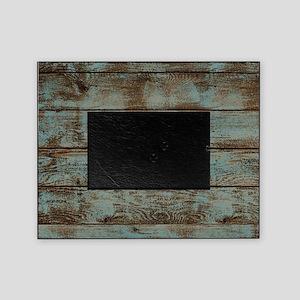 rustic barnwood woodgrain Picture Frame