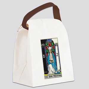 HIGH PRIESTESS TAROT CARD Canvas Lunch Bag