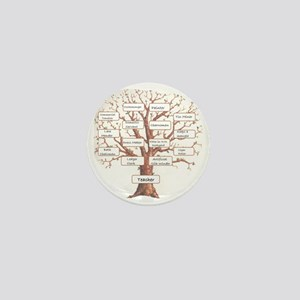 Family Occupation Tree Mini Button