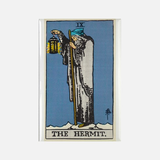 THE HERMIT TAROT CARD Magnets