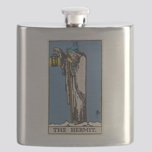 THE HERMIT TAROT CARD Flask