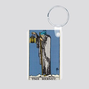 THE HERMIT TAROT CARD Keychains