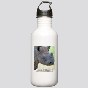 Love Rhinos Stainless Water Bottle 1.0L