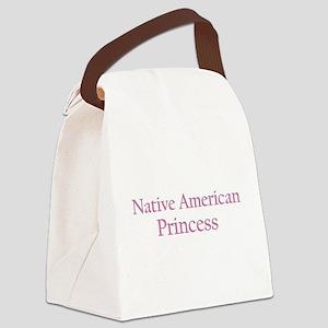nativeamericanprincess Canvas Lunch Bag