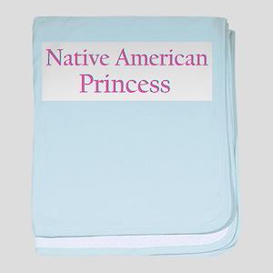 nativeamericanprincess baby blanket