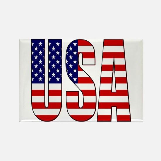 EUA / USA Rectangle Magnet