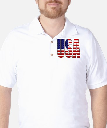 EUA / USA Golf Shirt