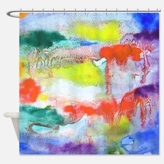 Splash of Color Shower Curtain