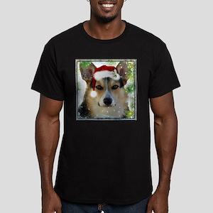Handsome Holiday Corgi T-Shirt