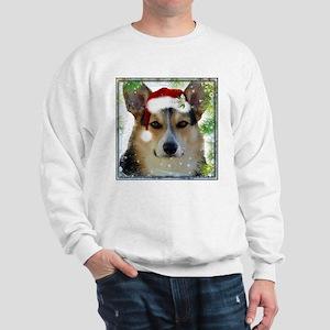 Handsome Holiday Corgi Sweatshirt