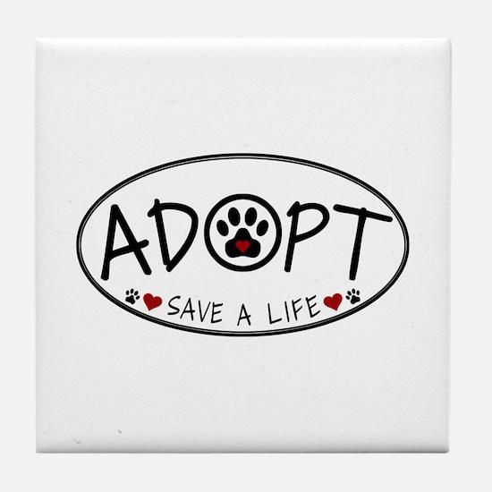 Universal Animal Rights Tile Coaster