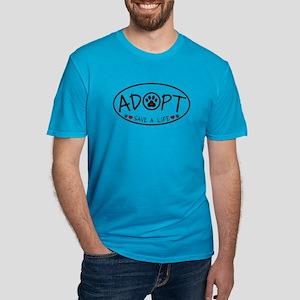 Universal Animal Rights Men's Fitted T-Shirt (dark