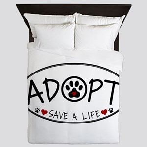 Universal Animal Rights Queen Duvet