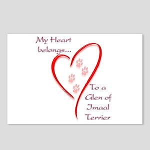 Glen of Imaal Heart Belongs Postcards (Package of