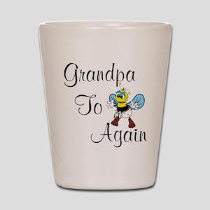 Grandpa To Bee Again Shot Glass