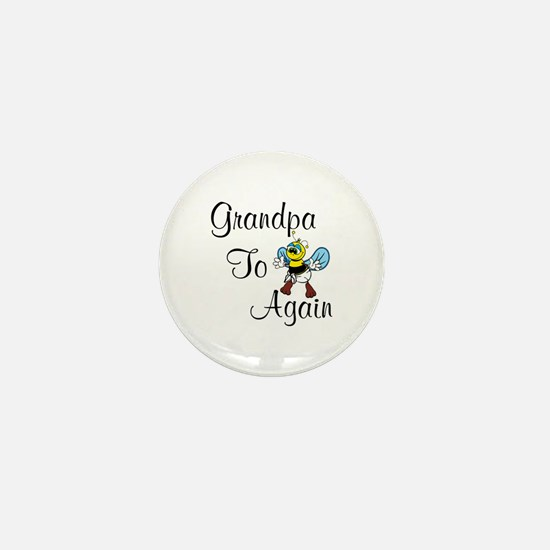 Grandpa To Bee Again Mini Button