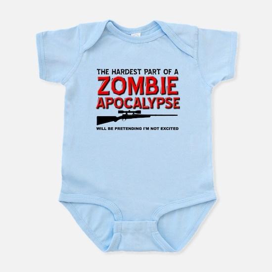 Zombie Apocalypse Excited Body Suit