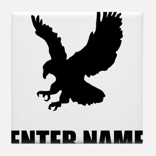 Eagle Personalize It! Tile Coaster