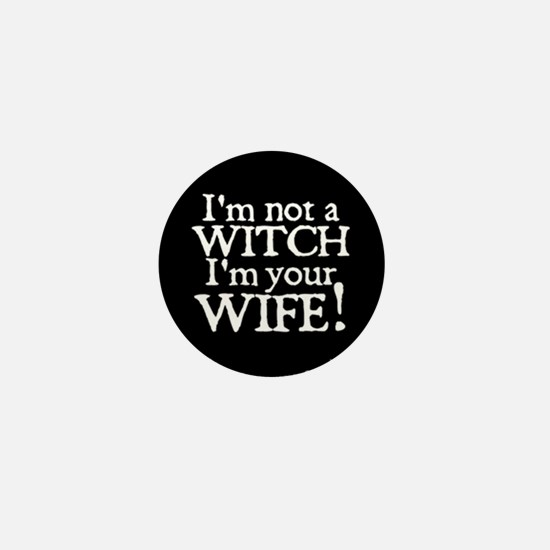 Witch Wife Princess Bride Mini Button