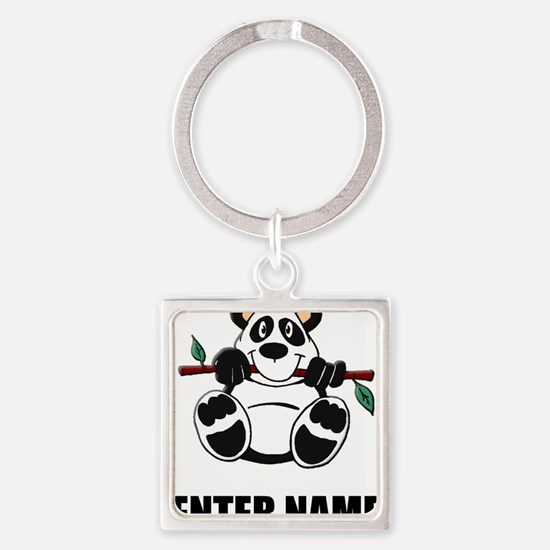 Panda Personalize It! Keychains