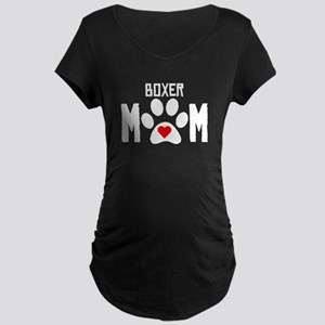Boxer Mom Maternity T-Shirt