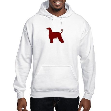 Just Afghan (Red) Hooded Sweatshirt