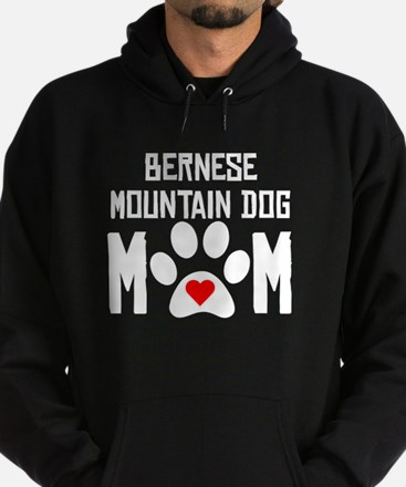 Bernese Mountain Dog Mom Hoodie