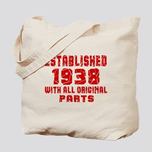 Established 1938 With All Original Parts Tote Bag