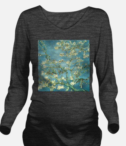 Blossoming Almond Long Sleeve Maternity T-Shirt
