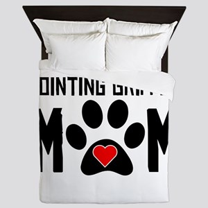 Wirehaired Pointing Griffon Mom Queen Duvet