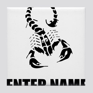 Scorpion Personalize It! Tile Coaster