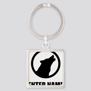 Wolf Personalize It! Keychains