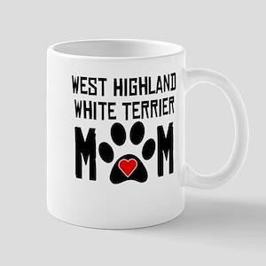West Highland White Terrier Mom Mugs