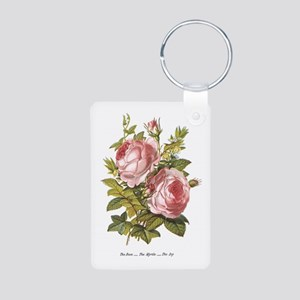 Rose, Myrtle and Ivy Keychains