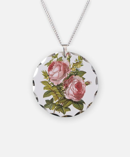 Rose, Myrtle and Ivy Necklace