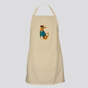 Brown Dog from Paris Apron