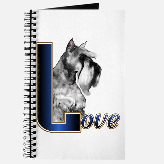 Miniature Schnauzer Love Journal