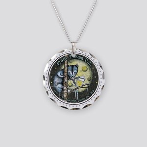 The Frosty 'Possum Pub Necklace Circle Charm