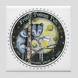 The Frosty 'Possum Pub Tile Coaster