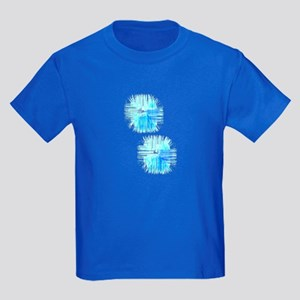 Abstract Splatter Graffiti Blue Hues 32 T-Shirt