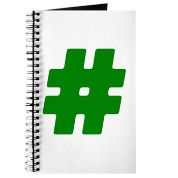 Green #Hashtag Journal