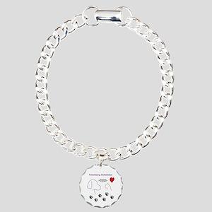 Veterinary Technician-Pa Charm Bracelet, One Charm