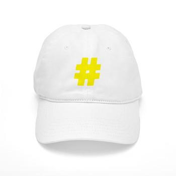 Yellow #Hashtag Cap