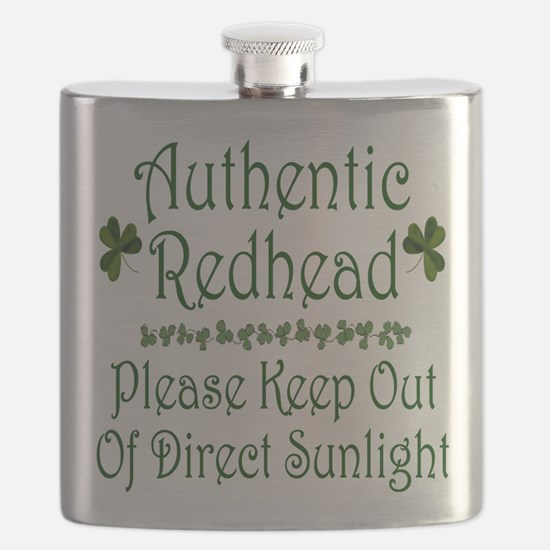 Authentic Redhead Flask