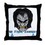 Zombie Beaters Throw Pillow