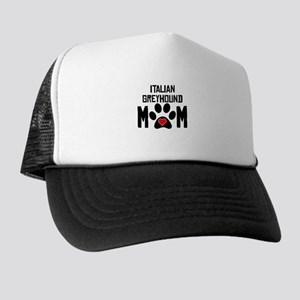 Italian Greyhound Mom Trucker Hat