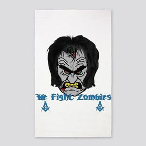 Zombie Beaters 3'x5' Area Rug