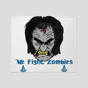 Zombie Beaters Throw Blanket