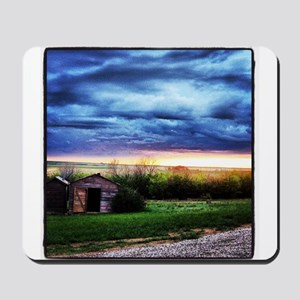 Red Granary Mousepad